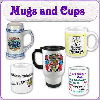 Meeting Coffee Cups and Mugs and Matching Coasters