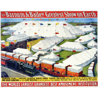 Circus Posters and Gifts