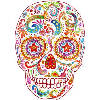 Psychedelic Sugar Skull