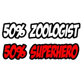 Half Zoologist...Half Superhero