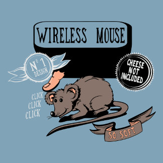 Wireless Mouse ~ Funny New Geek Gift