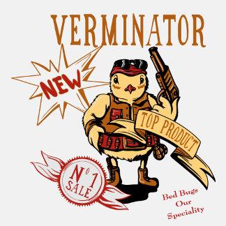 Bird Verminator  ~ Pest Extermination Funny New Gi