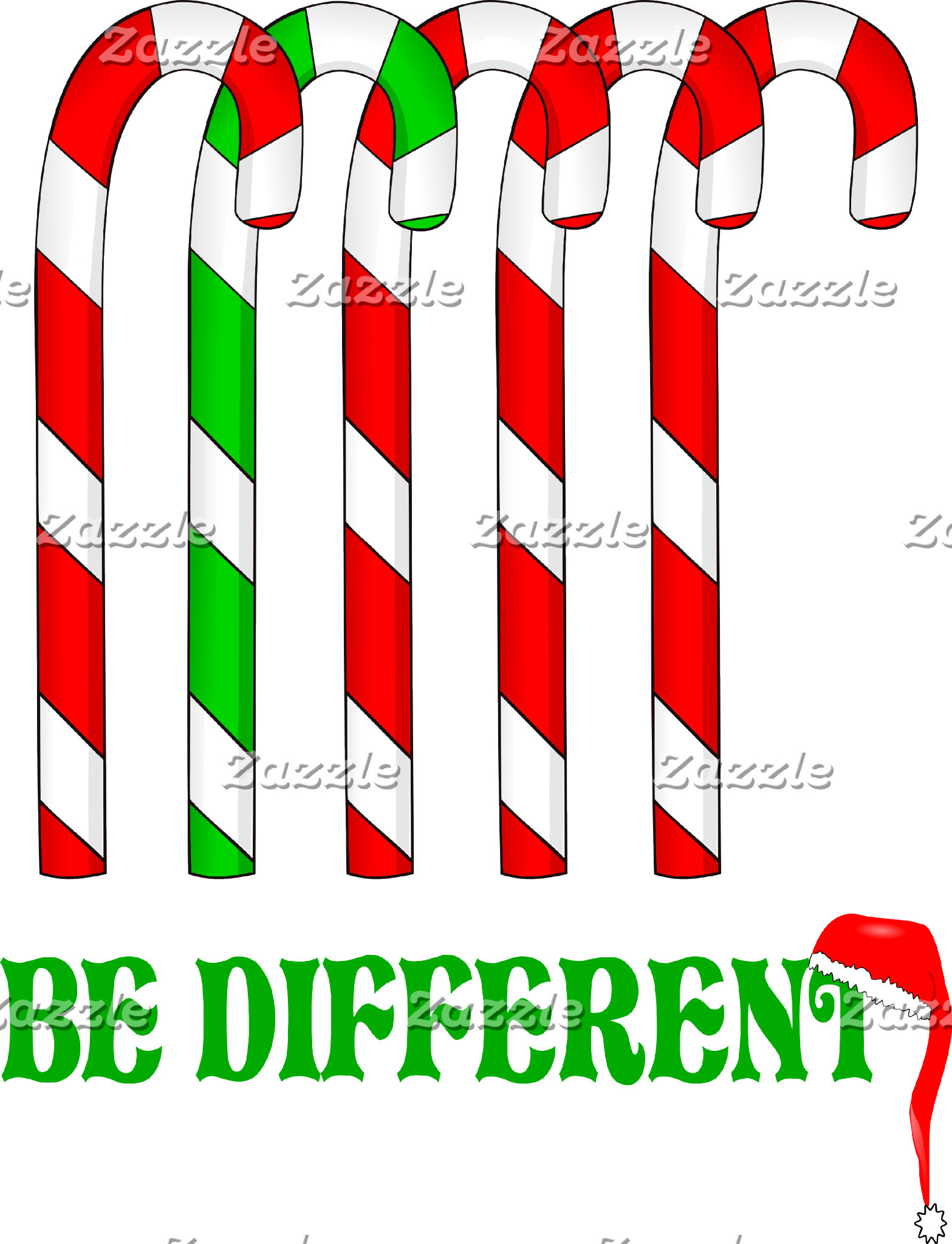 Candy Canes - Be Different