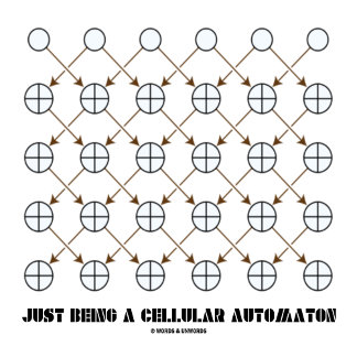Just Being A Cellular Automaton
