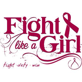 Multiple Myeloma Fight Like A Girl Elegant
