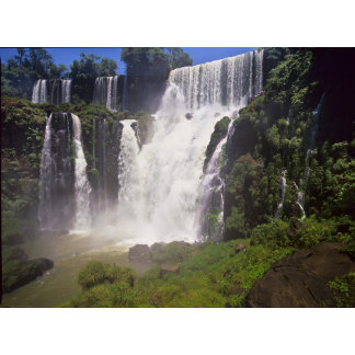 Argentina; Igwazu; Igwazu Falls. Salto San