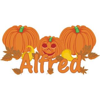 Pumpkin Alfred Personalized Halloween