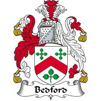 Bedford Family Crest / Coat of Arms