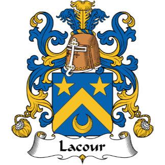 Lacour Family Crest