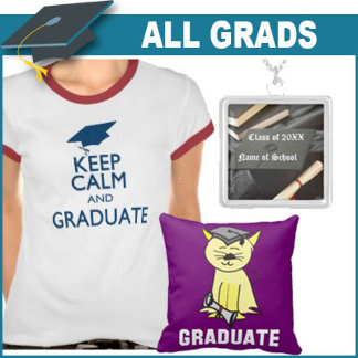 Graduation Gifts and T-shirts for Everyone