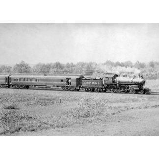 Chicago and Northwester Passenger Train