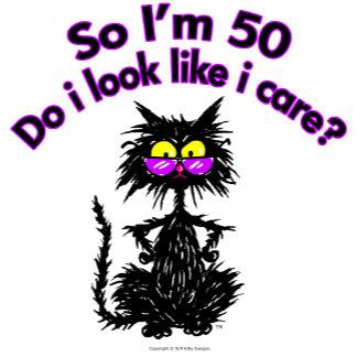 50th Birthday Cat Gifts