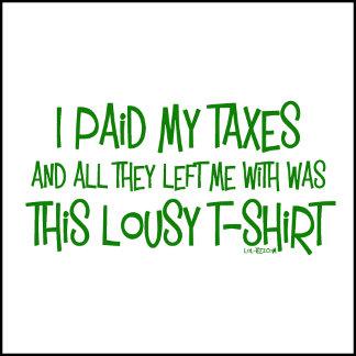 Paid My Taxes