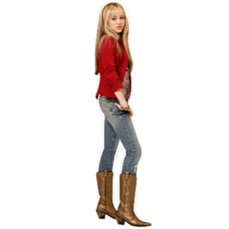 Hannah Montana In Boots