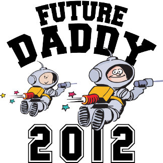 Future Daddy 2012 - Father To Be T-Shirt Gifts