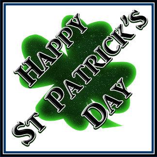 Happy St Patrick's Day Shamrock