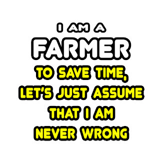 Funny Farmer T-Shirts and Gifts