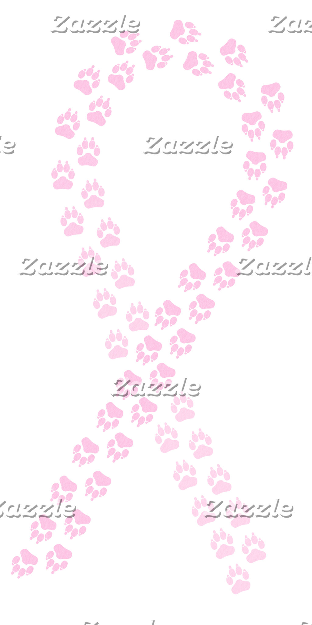 Pawprint Ribbons
