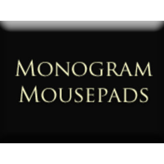 Monogram - Mousepads