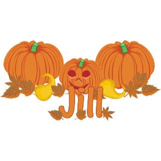 Pumpkin Jill Personalized Halloween