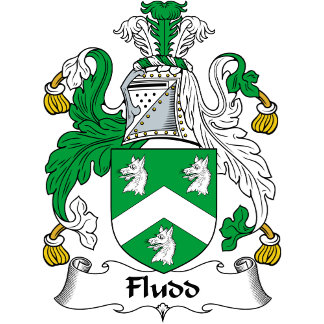 Fludd Family Crest / Coat of Arms