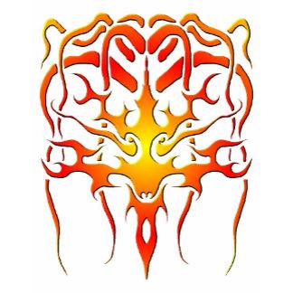 Medusa Tribal Tattoo