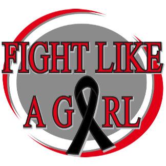 Melanoma Fight Like A Girl Circular