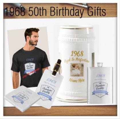 1968 50th Birthday Gifts