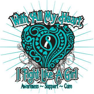 Cervical Cancer Heart I Fight Like A Girl