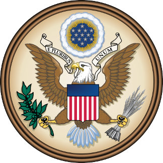 United States Coat of Arms detail