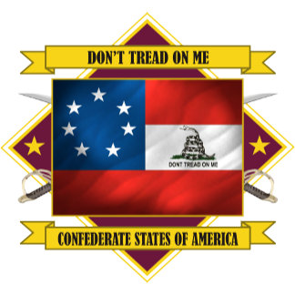 Confederate 1st National -Don't Tread On Me