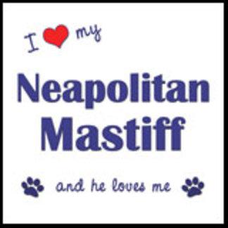 I Love My Neapolitan Mastiff (Male Dog)
