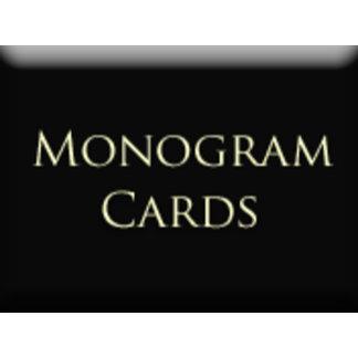 Monogram - Cards