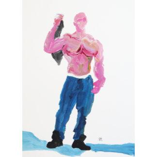 Male Figure Paintings