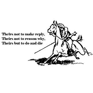 Light Brigade Quote Illustration