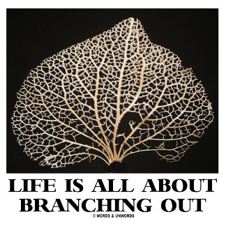 Life Is All About Branching Out (Vein Skeleton)