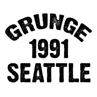 GRUNGE 1991 SEATTLE T-Shirts