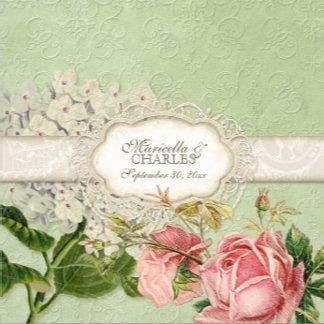 Rose Hydrangea Lace - Mint