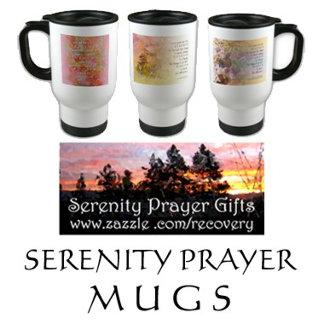 Serenity Prayer Mugs