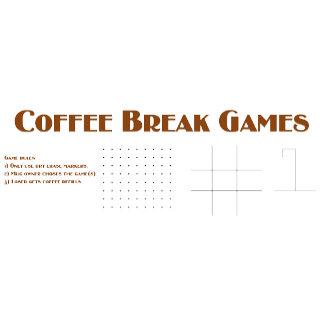 Coffee break games : Coffee mugs.