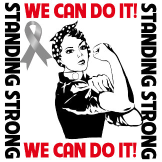 Brain Cancer Standing Strong We Can Do It