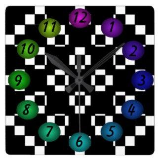 Spectrum Checkerboard Pop Art