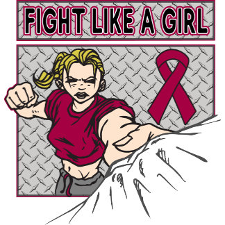 Multiple Myeloma Fight Like A Girl Punch