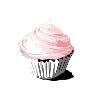 Pink cupcake template products