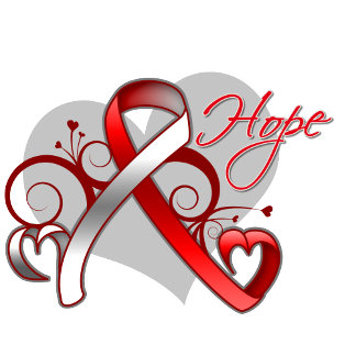 Floral Ribbon Hope - Myelodysplastic Syndromes