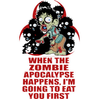Zombie Eat You First