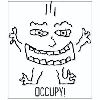 Occupy - DoodleNut wild character -