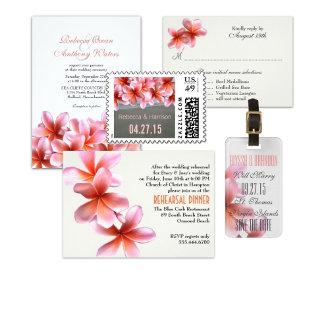 Plumeria, Pink