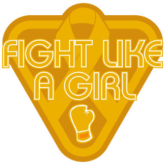 Appendix Cancer Fight Like A Girl Glove