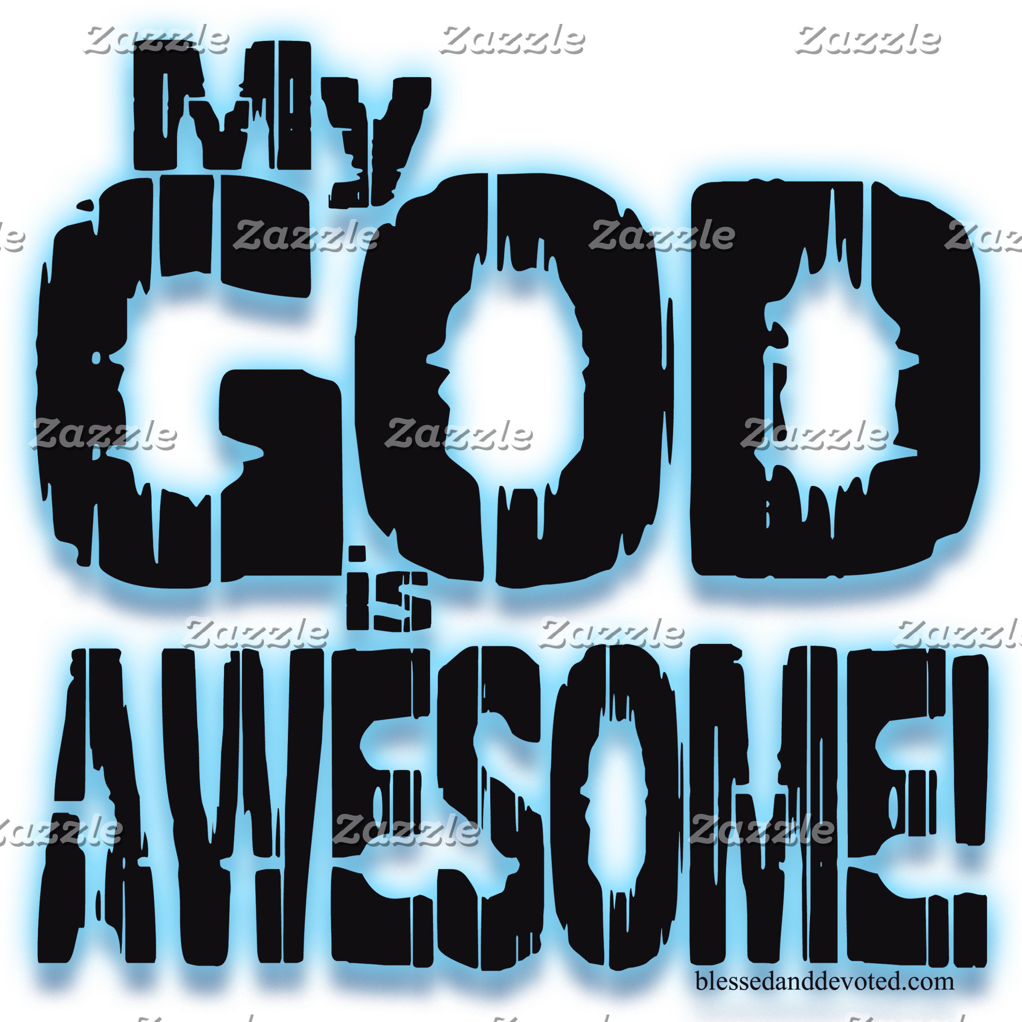 My GOD is AWESOME!